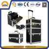 2 in 1 Trolley Makeup Travel Aluminum Case (HB-3313)