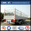 Cimc Hj Hot Exported High Tense Steel 3 Axles Stake Trailer