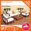 European Style Wooden Sofa Chair Hotle Leisure Table Chair