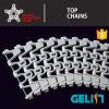T-1100 Helix Elevator Machine Flush Grid Modular Plastic Conveyor Belt