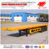 Hot Sale Tri Ejes Personalized Container Carrier Flat Bed Trailer De 2*20FT and 40FT