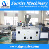 Conical Twin Screws Plastic Extruder for PVC Pipe and Profile Production Line
