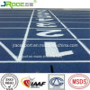 Blue Color Rubber Racing Tracks with Iaaf Certificate