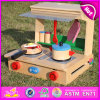 2015 Brand New Wooden Cooking Toy, Wooden Kitchen Cooking Toy, Kids′ Wood Kitchen Cooking Toy, Wood Cooking Toy Set W10c177