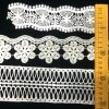 Hm Lace Factory Outlet Newest Design Embroidered Flower Leaf Trim Lace