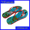 Colorfu Strap African PE Slippers for Ladies (BF15002-Red)