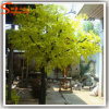Evergreen Fiberglass Plastic Artificial Ficus Tree