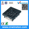 General Miniature Electro-Magnetic Industrial Power Relay Socket with CE