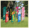 Durable Double Sided Beach Flag / Flying Flag / Feather Flag (5.5m)