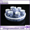 Blue and White Chinese Style Porcelain Tea Set