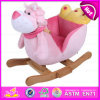 2015 Brand New Wooden Rocking Toy, Hot Sale Wooden Plush Rocking Toy, Wooden Balance Rocking Toy, Wood Children Toy Ride W16D075