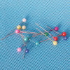 Coloured Plastic Pearl Head Pin (QX-PP003) 4*15/4*24/4*38/4*46/4*55mm