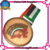 Bespoke Medal with Customer 2D/3D Logo Engraving for Sports Medal