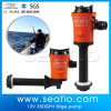 Mini Lif Bilge Water Pump 12V, 600gph Blue+Whilte+Black