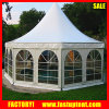 6m 8m Aluminum Hexagon Pagoda Dome Tent Garden Party Furniture
