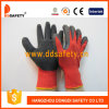 Ddsafety 2017 Nylon with Polyester Gloves Foam Latex Crinkle Finished
