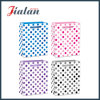 White Paper & Colorful Round Dots Daily Shopping Gift Paper Bag