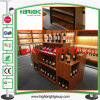 Pine Wood Luxury Store Supermarket Wine Rack