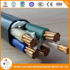 Yjv Yjv22 Yjv32 0.6/1kv Copper XLPE/PVC/Swa Power Cable 3X50+2X25 mm2