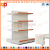 New Customized Steel Flat Back Double Side Supermarket Shelving (Zhs498)