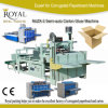 Semi-Auto Carton Gluer Machine for Carton Box