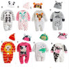 Baby Kids Toddlers Cartoon Animal Romper Jumpsuit Outfits Costume, Long Sleeved