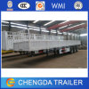 Chinese 50ton Dropside Semi Trailer with 12 Twist Locks