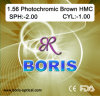 1.56 Photochromic Brown Hmc 70/65mm Optical Lens