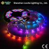 5V SMD 5050 Ws2812b Addressable LED Digital Flexible Strip for Christmas