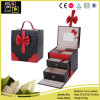 Classic Pink Store Package PU Leather Jewelry Box