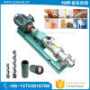 High Viscosity Liquid Mayonnaise Single Screw Pump