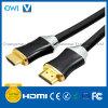 Metal Assembly Flat HDMI 19pin Plug to Plug Cable