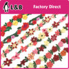 New Arrival Fancy Rose Flower Multi-Color Embroidery Lace