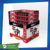 Pop Supermarket Cardboard Display Rack Paper Pallet Display