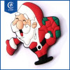 Customized 3D Rubber Best Selling Model Printing Santa Claus Magnet