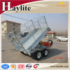 8X5 Australia Farm Dump Trailer with Cage