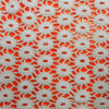 White Water Soluble Cotton Lace Fabric (L5115)