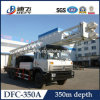 Trucked Mounted Water Drilling Rig 350m Popular in Africa Market