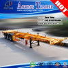 Tri Axle 40ft Skeleton Container Chassis Semi Trailer (LAT9371TJZG)