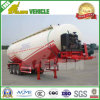 Bulk Cement Transport Air Suspension Tank Trailer with Air Compressor and Diesel Engine