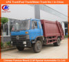 130HP 170HP Dongfeng Compressed Garbage Truck
