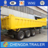 Sinotruk 80t Tri Axle Heavy Duty Tipper Truck Trailer