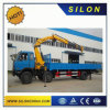 China Silon 8ton Truck Mounted Crane Sq8zk3q with Telescopic Boom