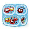 Hot Sale Melamine Kids Compartment Meal Tray (TR2126)