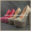 Swarovski Crystal Shoes Lady Wedding Shoes Woman