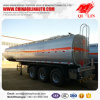 Total Weight 40 Tons Tanker Semi Trailer for Flammable Liquids Loading