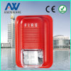 LED Flashing Fire Alarm Horn Strobe Conventional