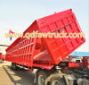 3 Axles Chinese Tipper Trailer for sale