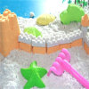 Non-Toxic Moving Color Beach Modeling Space Sand