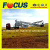 Good Condition Mobile Concrete Batching Plant, Trailer Movable Concrete Mixing Plant 50~60cbm/H